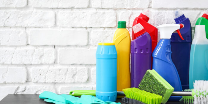 The Cleaning Supplies Needed For Home And Office