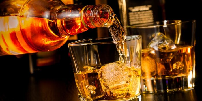 The Difference Between Bourbon And Whiskey